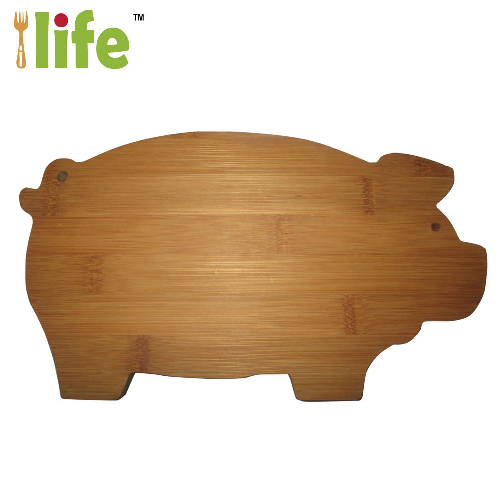 View:Bamboo Pig cutting Board